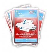 Megapakket 500 lamineerhoezen - A3, 2 x 125 Mic, glanzend