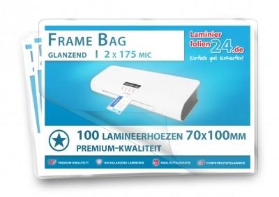 Lamineerhoezen klein formaat (70 x 100 mm), 2 x 175 mic